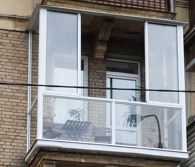 """Панорамное остекление балконов и лоджий - """"пск конструкция"""" ."""